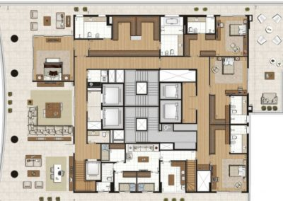 COBERTURA DUPLEX 1.214M²