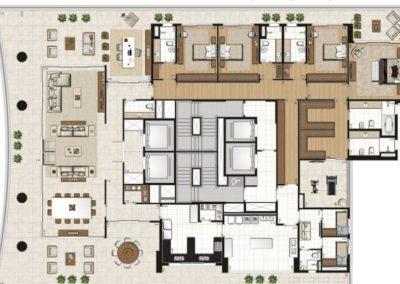 apartamento tipo 632m²