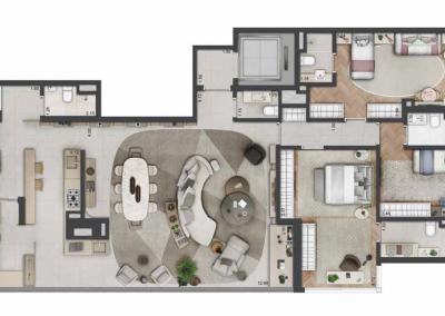PGR_APARTAMENTO DE 186 m² — 3 SUÍTES_3vg